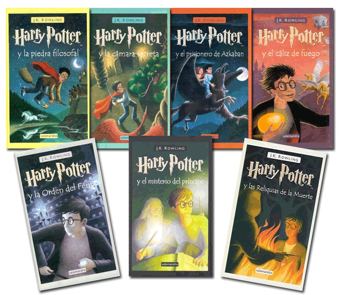 Los libros de Harry Potter