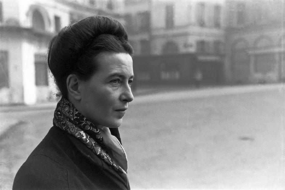Foto de Simone de Beauvoir